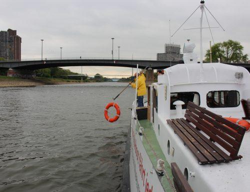 Auf dem Neckar unterwegs: Das Polizeiboot startet in die nächste Saison