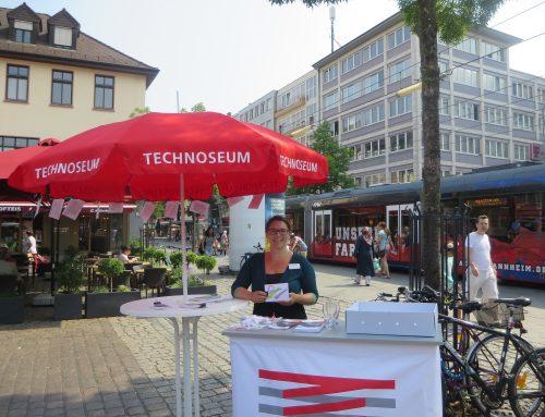 Wer finden will, muss suchen: Das TECHNOSEUM unterwegs mit dem Sammelmobil auf dem Mannheimer Wochenmarkt