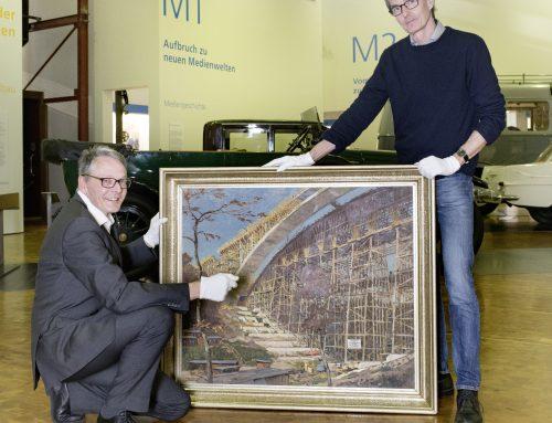 Technische Meisterleistung in Öl: Bilfinger SE schenkt Museum Industriegemälde
