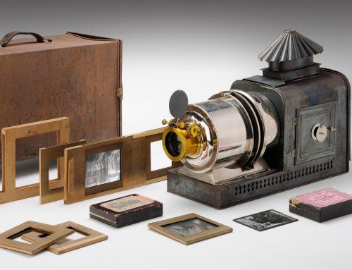 Heimkino vor 100 Jahren: TECHNOSEUM übernimmt Laterna Magica aus dem Jahr 1910
