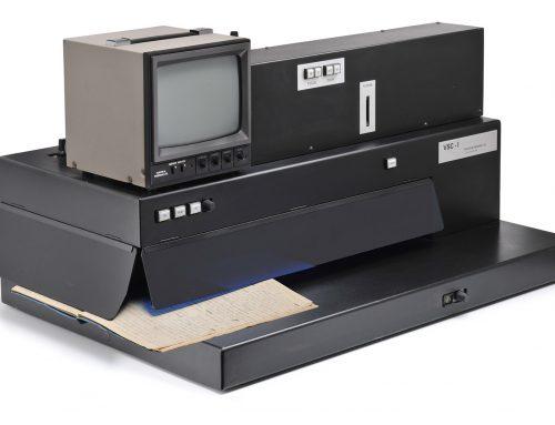 Dem Betrug auf der Spur: Gerät aus der Kriminaltechnik bereichert die Museums-Sammlungen