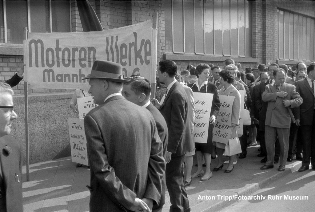Metallarbeiterstreik in Mannheim