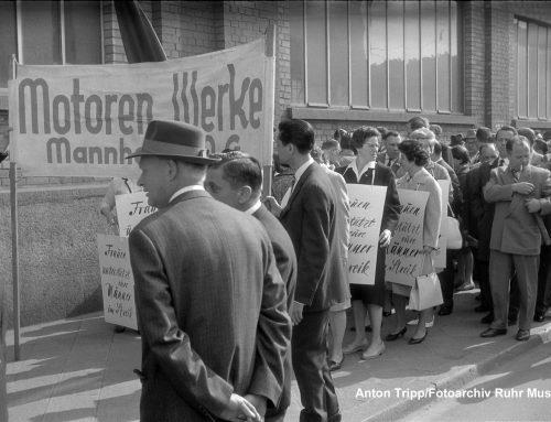 Stadt im Ausnahmezustand: TECHNOSEUM gibt Buch zum Metallarbeiterstreik 1963 in Mannheim heraus