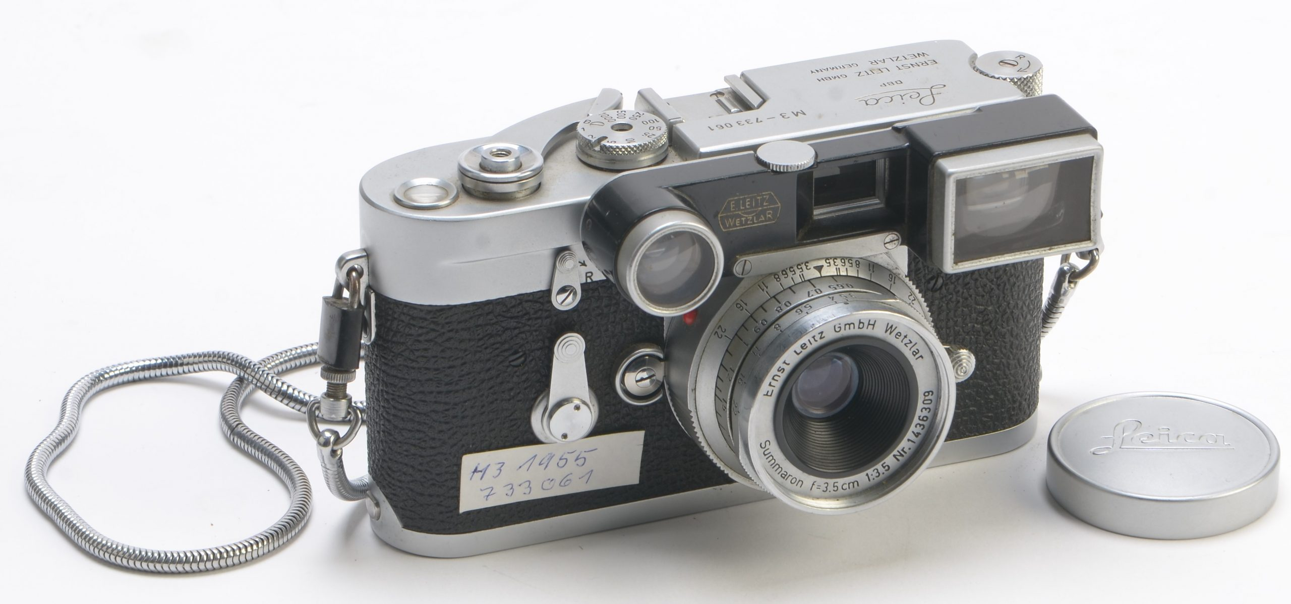 Kleinbildkamera M3 von Leica
