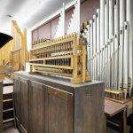 Orgelpfeifen der Kino-Orgel
