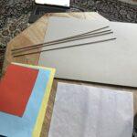Papier, Holzspieße