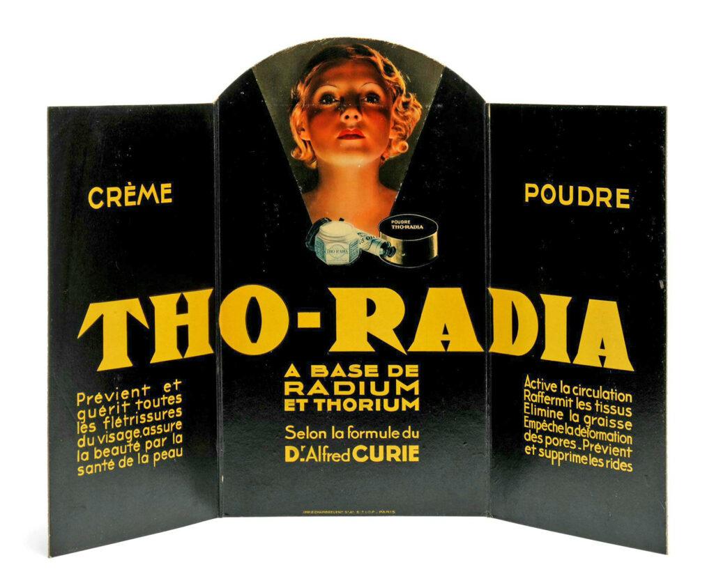 Werbe-Aufsteller Tho-Radia